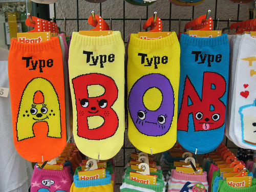 blood-type-socks